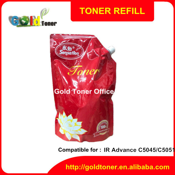 IRC5045 5051 chemical color toner of photocopy machine