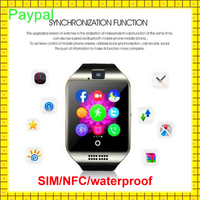 2016 gsm camera and waterproof watch phone dual sim android