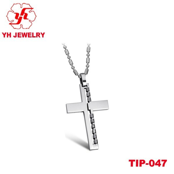 2015 Famous Brand Design Mysterious Personality Titanium Cross Pendant With Best Quality Best Sell In Global