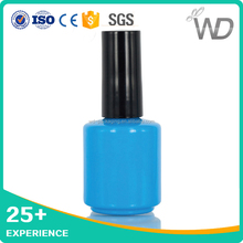 best price gel polish bottle/soak off uv gel nail polish bottle/bottle cap perfect match gel polish