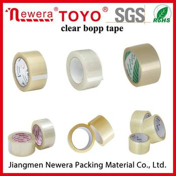 OEM logo bopp/opp adhesive packing tape from china with 29 years history