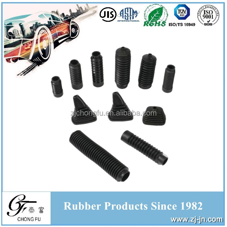Rack & Pinion TS16949 manufacturer auto rubber boot, drive shaft rubber boot, shock absorber dust boot