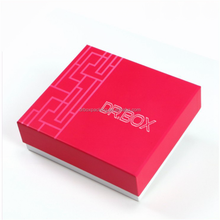 paper box with silk ribbon maquillage cosmetic makeup beauty salon fashion luxury