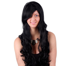 Hot sale top quality natural color long custom human hair wigs
