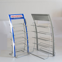 Metal Wire Candy / Snack food display racks / chewing gum display shelf