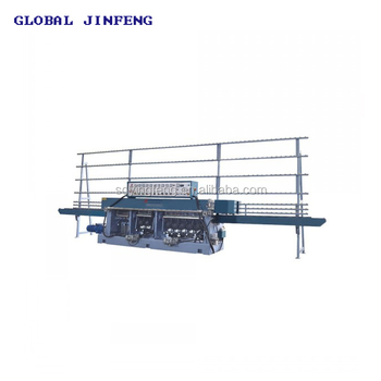 JFE-9540 9 motors glass straight line multilevel edge grinding machine
