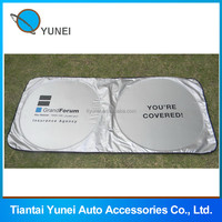 190T polyester car front window shade