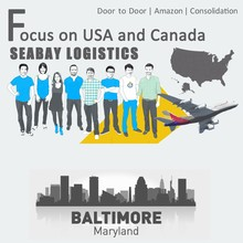 Brilliant air freight cargo shipping to baltimore