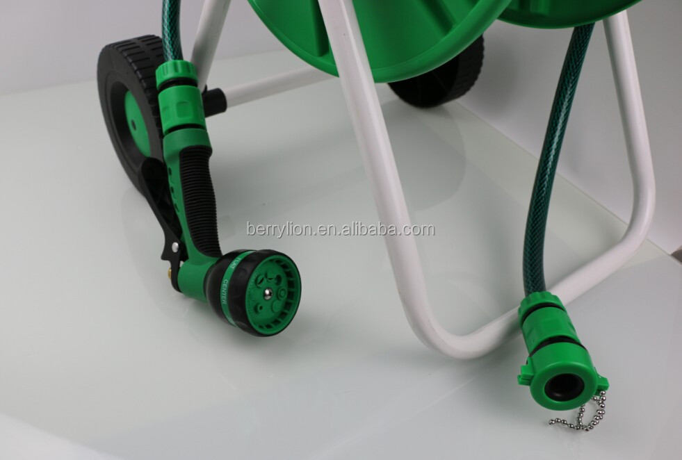 BERRYLION best selling 20m convenient garden watering hose reel with cheap price