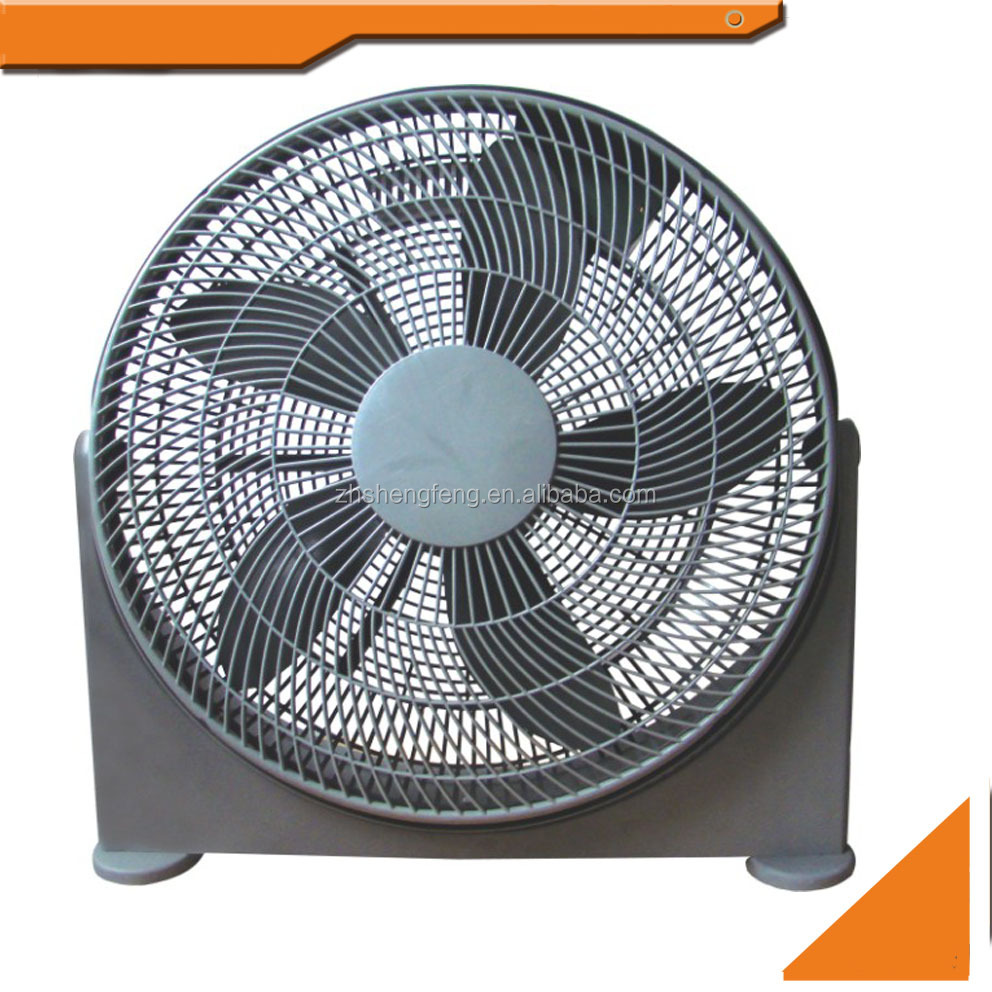 "20"" inch electric fan pp Plastic air cooling Floor box fan"
