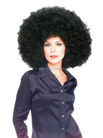 New Fashion Wig Afro Kinky Curly Half Wig Synthetic Hair for Black Women FW4140