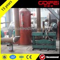 used tire pyrolysis machine 10 tons tyre pyrolysis plant rubber vulcanizeing crushing mill