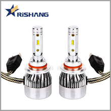 High power 8000lm Waterproof led auto bulb h7 h1 h3 h4 h13 9005 9006 9012 DC12V 24V led headlight bulbs with canbus-ready
