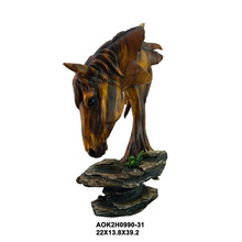 Custom Design Animal Statues Table Decoration Life Size Horse Head