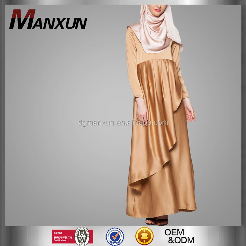 OEM Service Supply Model Abaya Islamic Clothing Fashion Women Muslimah Rose Jubah
