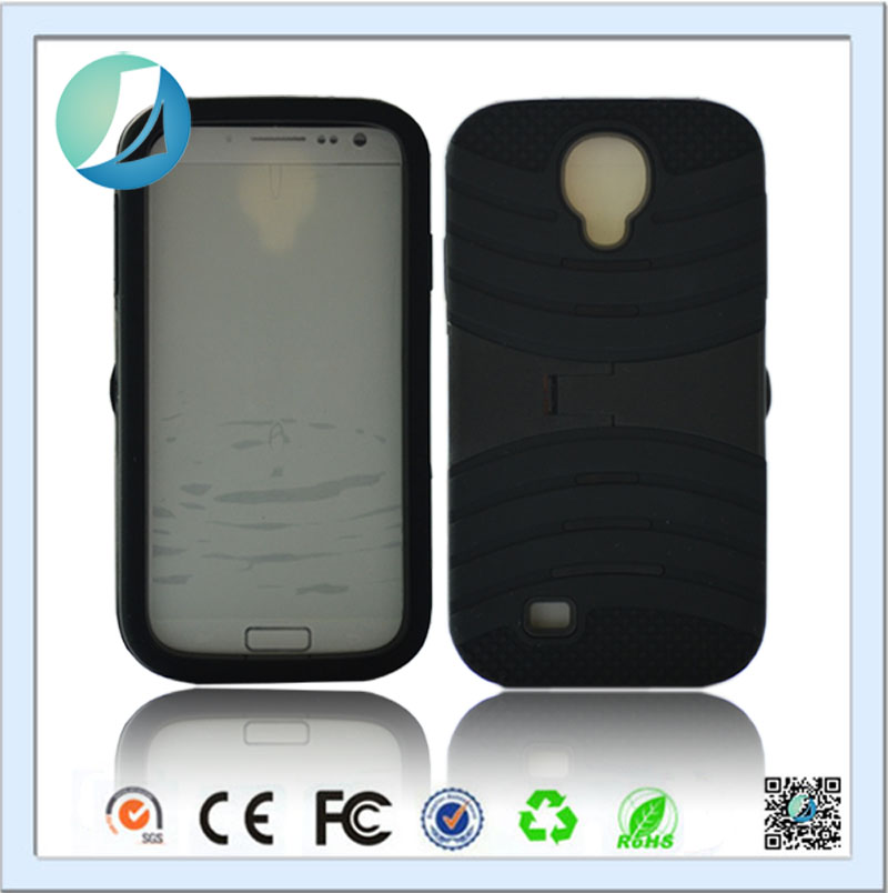 Wholesale phone case silicone back case cover for samsung s4