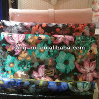 PU PVC Leather Lady Wallets Flower Printings Bolsos(Curenia)