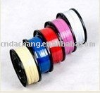Multi-Color Painted Aluminum Wire For Nylon Zipper garment accessories,color wires
