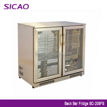 High quality 430 stainless steel beer cooler, under counter fridge