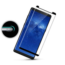 Hot bending 3D tempered glass for mobile phone full cover premium tempered glass screen protector for Samsung Galaxy Note 8