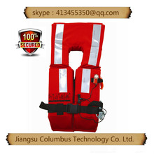 sealed bag packed Inflatable safety sport fishing equipmen life vest
