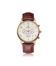 BESSERON 2017 New OEM leather watch strap Japan movement pc21s pc21j quartz watch China watch factory