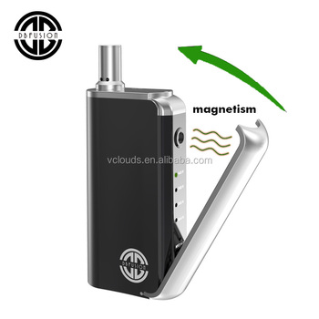 Dbfusion Mod Box 2017 Dbox Vcloud Kit Plated Aluminum for THC/CBD Oil Cartridge