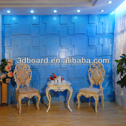 Fire Proof decorative 3d pvc wooden wall covering panels wooden panels for walls