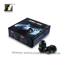 black color hub nut adapter for alloy wheels