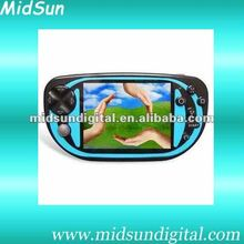 4.3 inch MP4,MP5,game player with camera,e-book,TV-out,game download