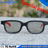 Newest DIY 3D Glasses For projector 2D to 3D movies play
