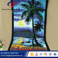Supply best quality brand name beach towels with our factory bottom price