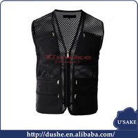 zipper pockets bibs hunting sports mesh vest