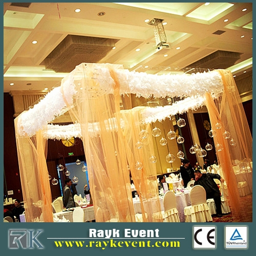 Used ceiling drape pipe and drape kits bacdrop | party photo booth