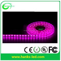 2017 Hot sell 5050SMD pink/white led strip light
