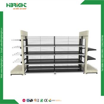 retail store wood shelving supermarket display metal shelf and highbright grocery island wooden gondolas