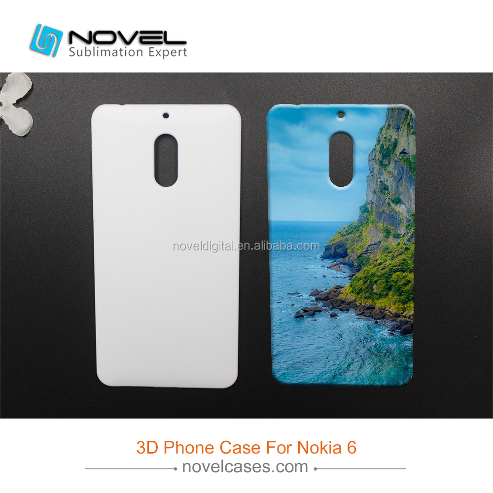 Newest 3D Sublimation Case For Nokia 6,Diy Phone Case
