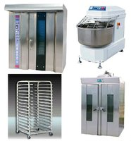 32 Trays Hot Wind Rotary Bread Baking Oven bakery ovens