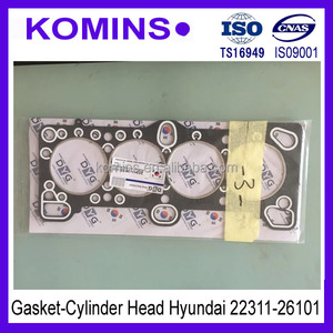 22311-26101 22311-26100 Full Cylinder Head gasket for Hyundai Accent 2006-