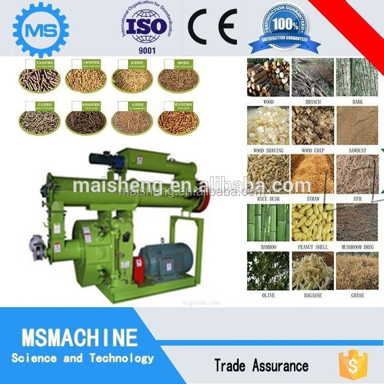High Efficiency eucalyptus wood chips pellet mill price