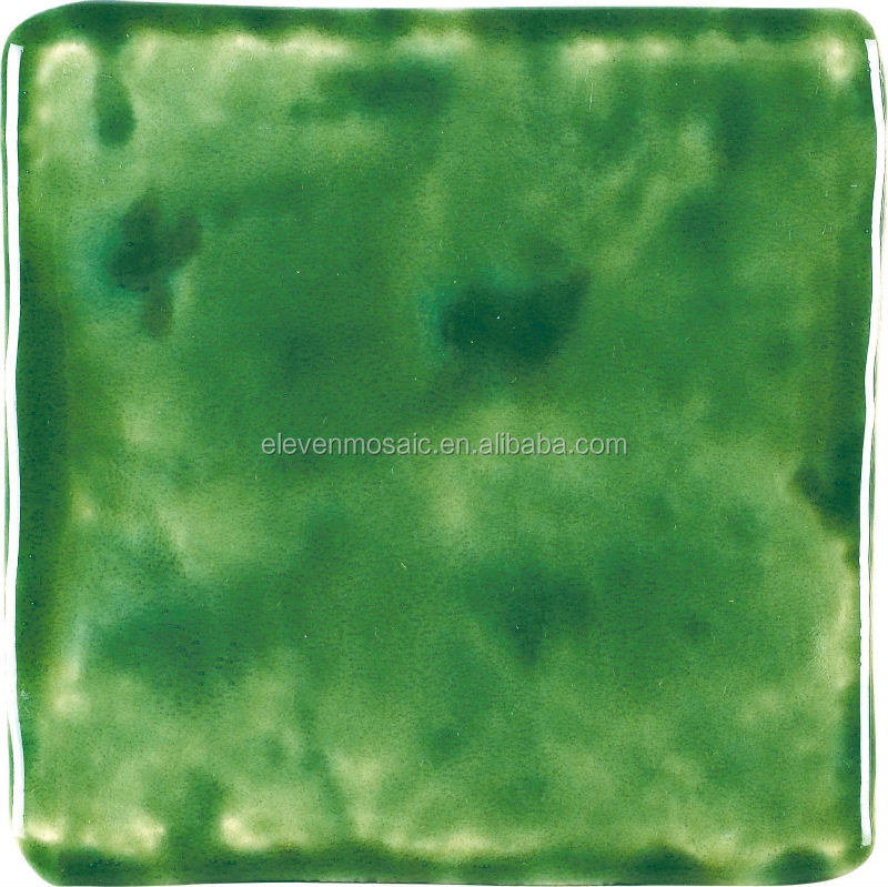 EMHR15306-1 high quality green glazed ceramic roof tile