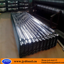 Z100G cheap zinc corrugated steel roofing sheet for roofing
