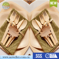 Best product 2016 biodegradable wood disposable tableware for festival