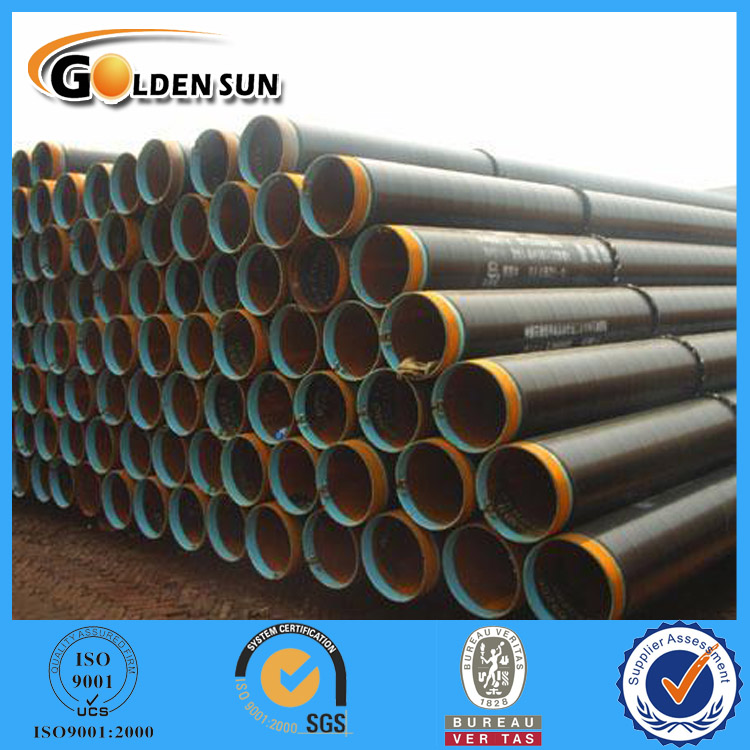 Trade Assurance API Black Seamless Round Section Special Tube
