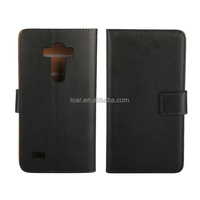 Genuine Leather Flip Wallet Cover For Lg G4 Beats G4S Mobile Phone case