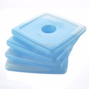Fit & Fresh Cool Coolers Slim Reusable Ice Packs for Lunch Boxes, Lunch Bags and Coolers