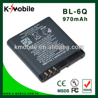 For Nokia 6700 Classic 7900 Classic battery BL-6Q BL6Q Battery