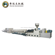 PVC line Pipe Plant / Groove PVC pipe machine manufacturer / PVC twin pipe extrusion line