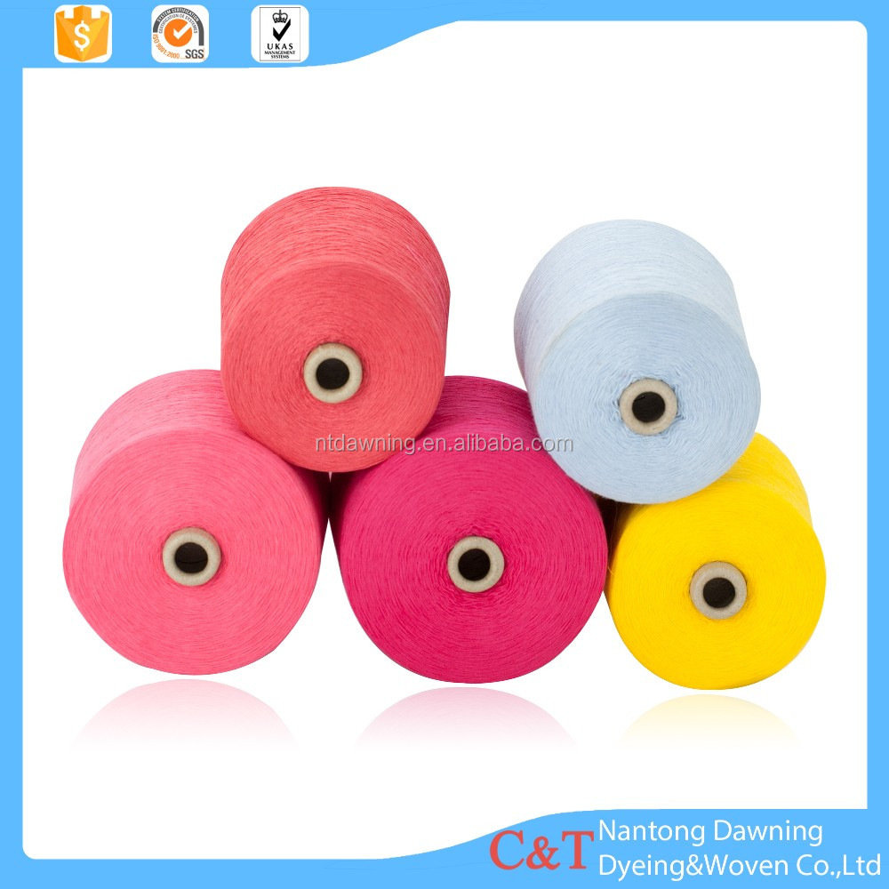 32s polyester cotton blended spun yarn