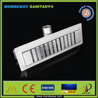 MONDEWAY HOT SALES channel laticrete linear drain bath tub drain cable drain